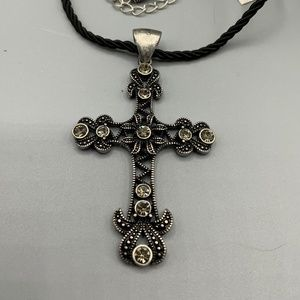 Lia Sophia Cross Devotion Necklace